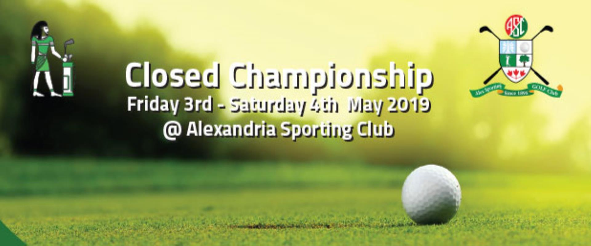 Entries are being accepted for The Closed Championship @ Alexandria